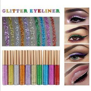 10 pcs kit Liquid Glitter Eyeliner waterproof new
